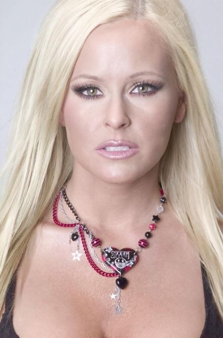 Katie Lohmann  wearing Sixx A.M necklace