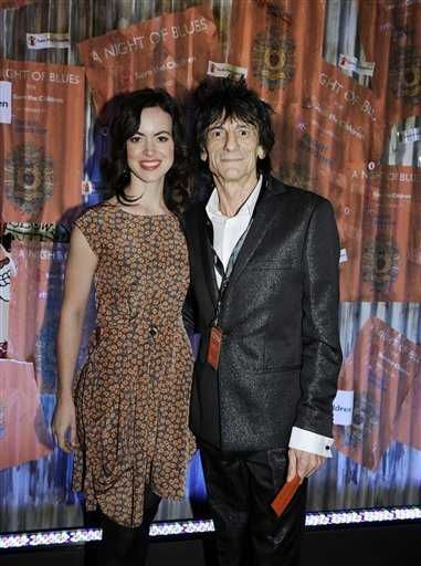 Ron Wood and Sally Humphreys