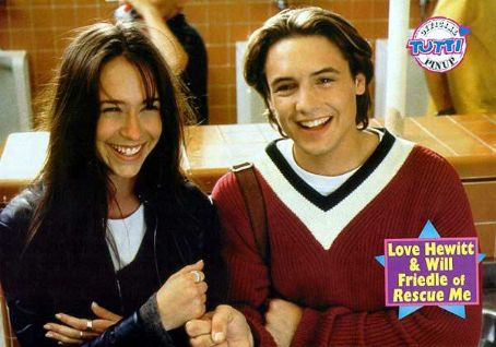 Trojan War Jennifer Hewitt and Will Friedle