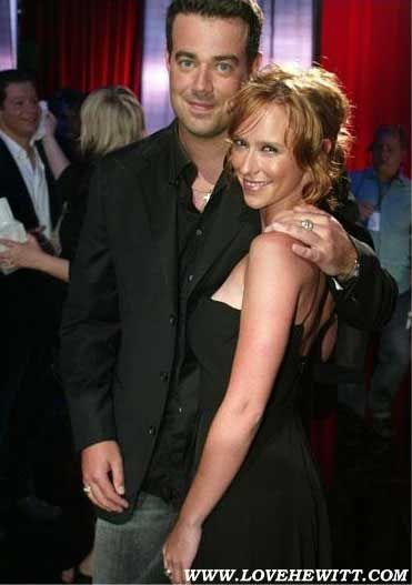 Carson Daly  and Jennifer Hewitt