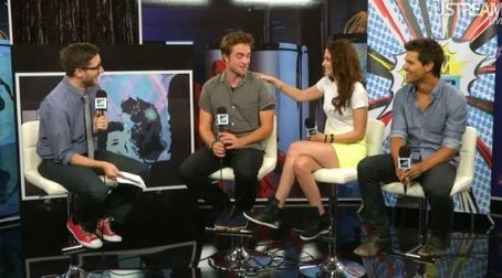 Robert Pattinson, Kristen Stewart & Taylor Lautner On MTV Comic Con 2012