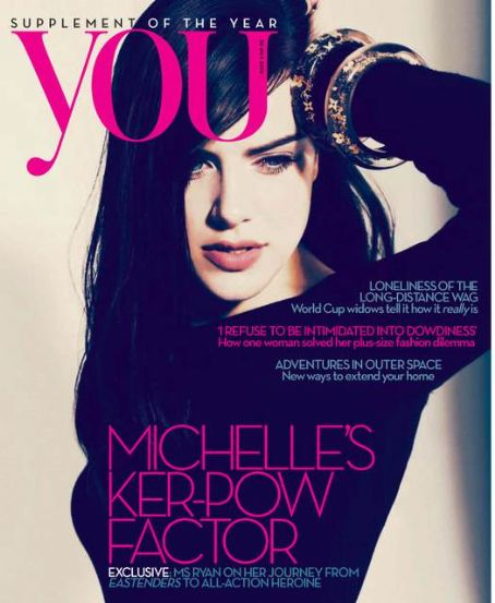 Michelle Ryan - You Magazine [United Kingdom] (30 May 2010)