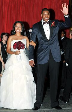 La La Anthony - Wedding Day July 10, 2010 NYC