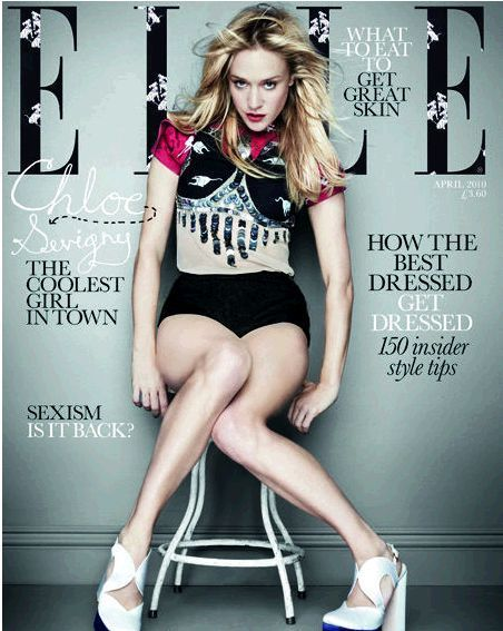 Chloë Sevigny - Elle Magazine [United Kingdom] (April 2010)