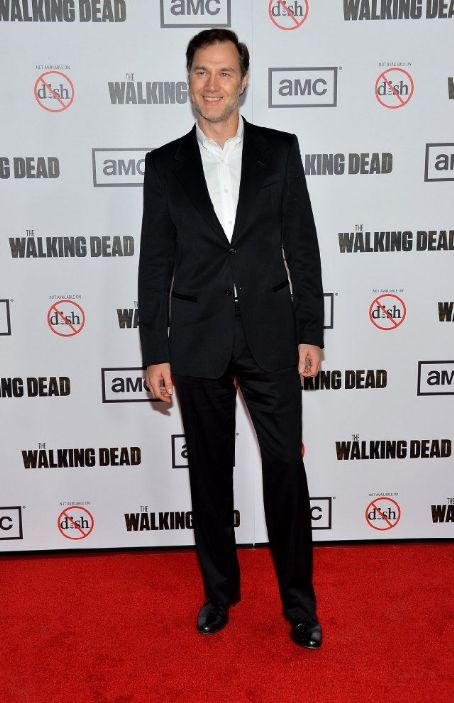 David Morrissey - Premiere Of AMC's The Walking Dead 3rd Season