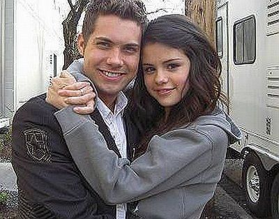 Drew Seeley Andrew Seeley and Selena Gomez