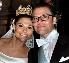 Victoria , Crown Princess of Sweden and Prince Daniel, Duke of Västergötland
