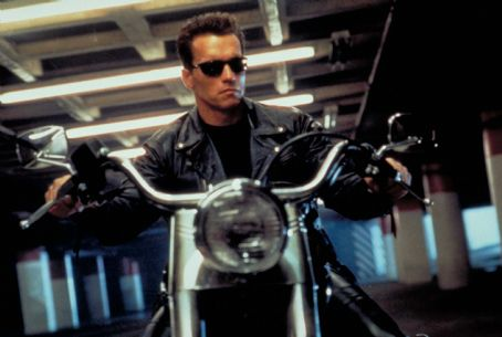Terminator 2: Judgment Day Arnold Schwarzenegger ('The Terminator') stars in Lionsgate Home Entertainment's Terminator 2 Skynet Edition Blu-ray.