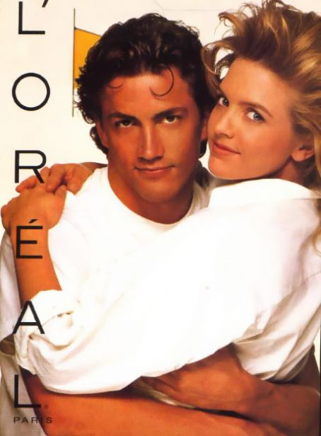 Andrew Shue  and Courtney Thorne-Smith