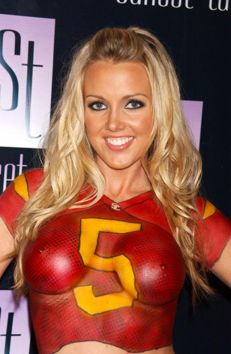 Tiffany Lang - Playboy Magazine October 2005 Cover Release Party