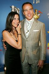 Richard Burgi and Lori Kahn