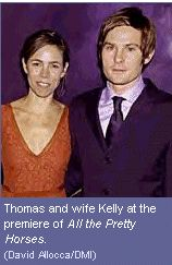 Henry Thomas  and Kelly Hill