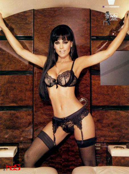 Maribel Guardia  - Hombre Maxico Magazine Scans May 2009