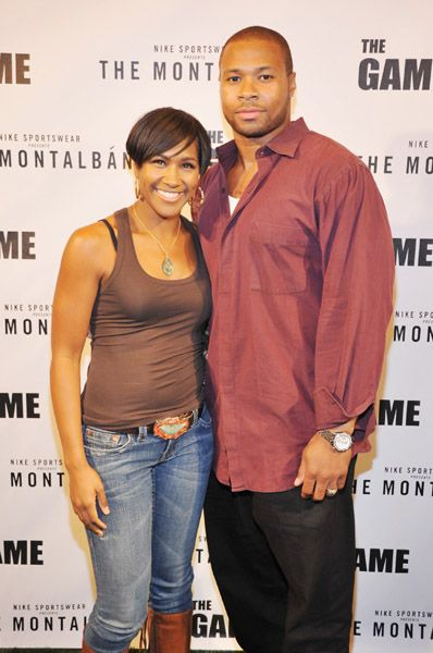 Terri J. Vaughn  and Karon Riley