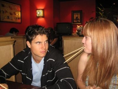 Kate Melton Robbie Amell and