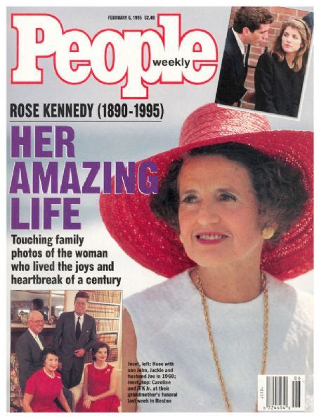 Rose Kennedy  - PEOPLE mag cover, Feb 6, 1995