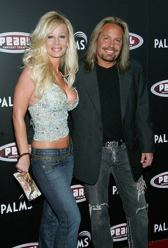 Vince Neil  and Lia Gerardini