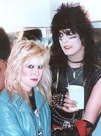 Lita Ford Nikki Sixx and