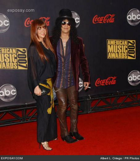 Slash and Perla Ferrar