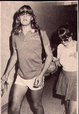 Joe Elliott and Denise Dakin