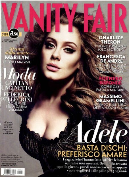 Adele Adkins Vanity Fair Italy April 2012