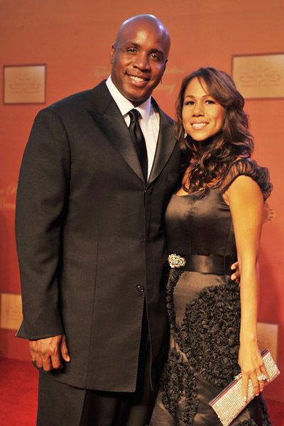 Barry Bonds  and Liz Watson