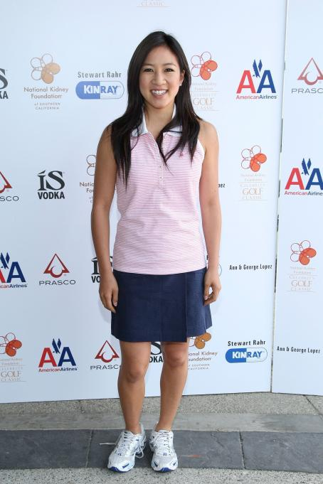 Michelle Kwan - 2 Annual National Kidney Foundation Celebrity Golf Classic In Burbank - May 4 2009