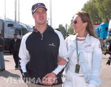 Ralf Schumacher  and Cora Schumacher