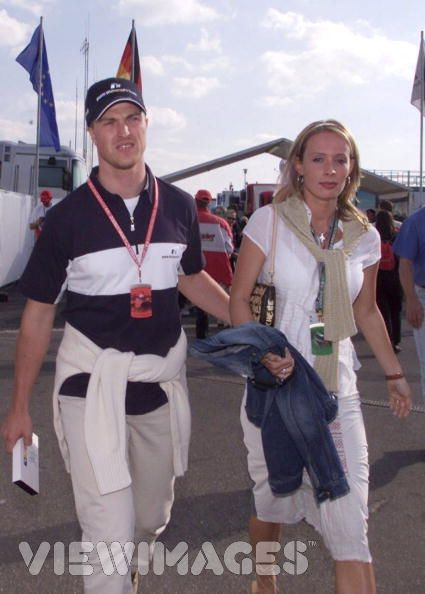 Cora Schumacher Ralf Schumacher and