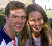 Cora Schumacher Ralf Schumacher and Cora Brinkmann