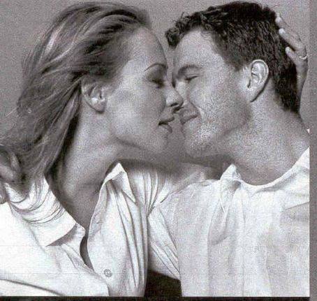 Ralf Schumacher  and Cora Brinkmann