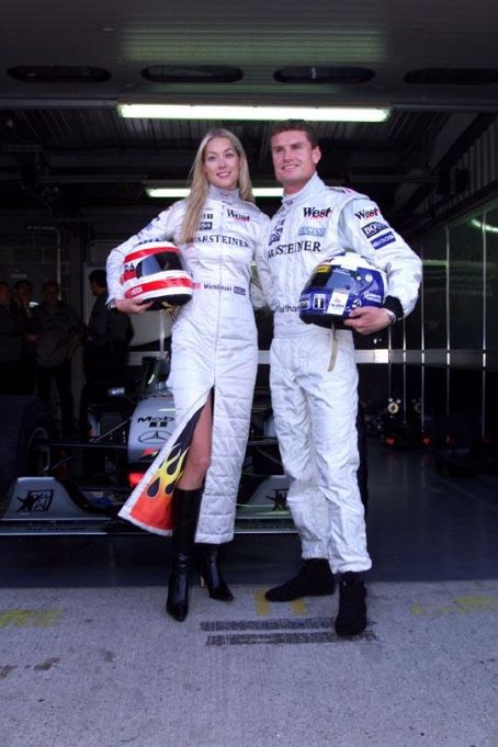David Coulthard  and Heidi Wichlinski