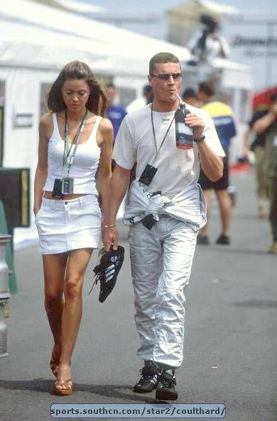 Simone Abdelnour David Coulthard and