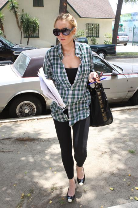 Lindsay Lohan - With A Script Called, 'Labor Pains', Los Angeles, 2008-06-04