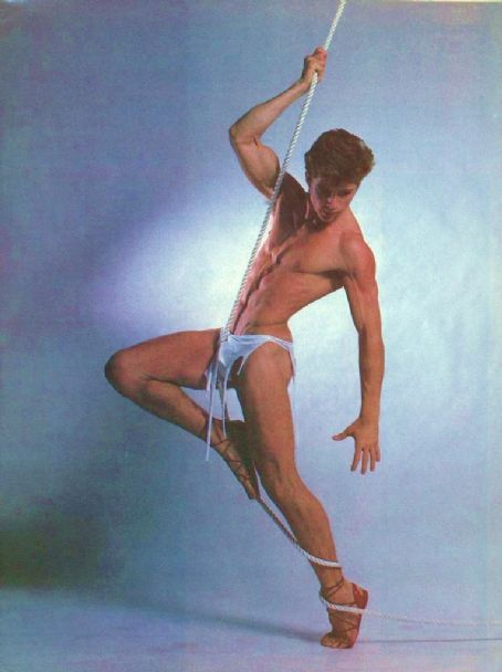 Maxwell Caulfield - After Dark's Photo Shoot