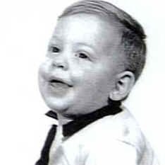 Vince Neil  as a baby.