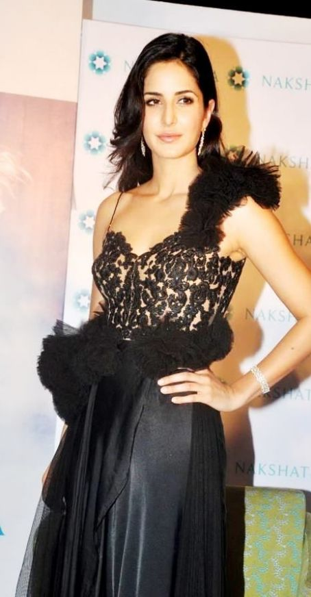 Katrina Kaif Unveils the New Nakshatra Logo Launch 2012