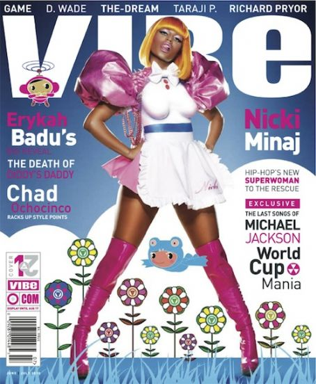 Nicki Minaj - Vibe Magazine [United States] (June 2010)