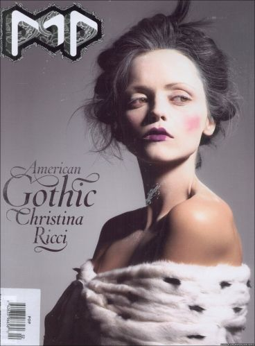 Christina Ricci - Pop Magazine Cover [United Kingdom] (September 2004)