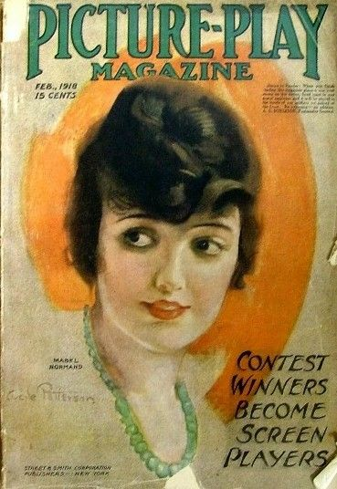 Mabel Normand - Picture Play Magazine [United States] (February 1918)