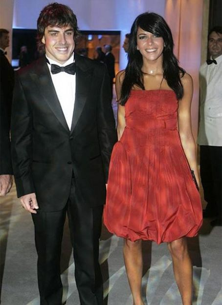 Raquel del Rosario  and Fernando Alonso