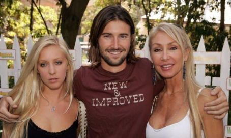 Brandon Jenner Leah Felder,  and Linda Thompson at W Magazine Hollywood Yard Sale