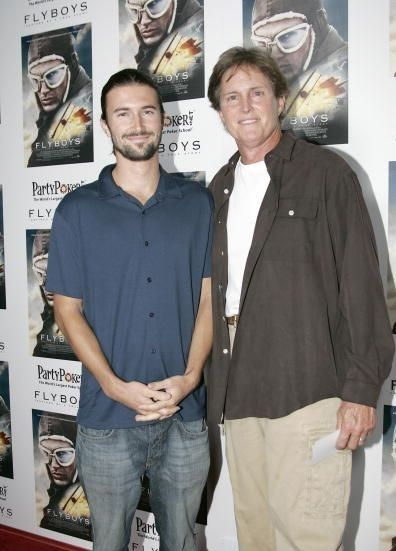 Brandon Jenner Brandon and Bruce Jenner at