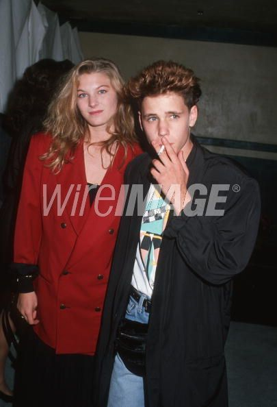 Corey Haim and Lala Sloatman