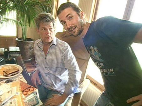 Brandon Jenner  and David Foster on MTV Cribs