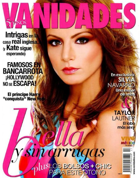 Silvia Navarro - Vanidades Magazine Cover [Mexico] (August 2010)