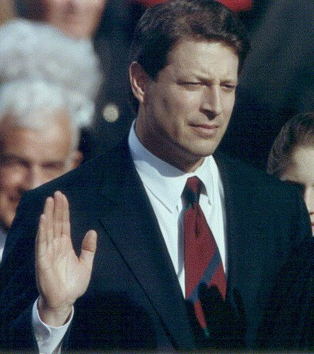 Al Gore Vietnam, Oath of Office