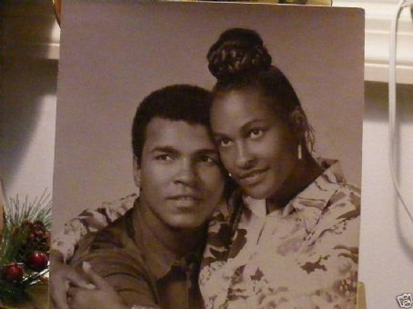 Khalilah 'Belinda' Ali Khalilah and Muhammad Ali the King & Queen...