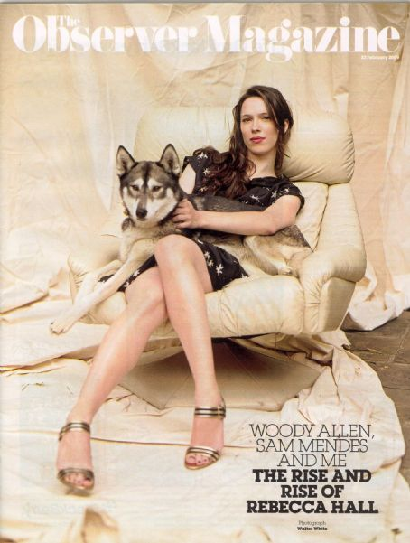 Rebecca Hall - The Observer Magazine Cover [United Kingdom] (22 February 2009)
