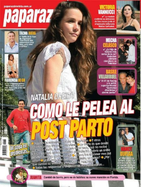Natalia Oreiro - Paparazzi Magazine Cover [Argentina] (8 March 2012)